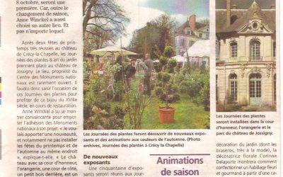 Les Journées des Plantes au Château de Jossigny