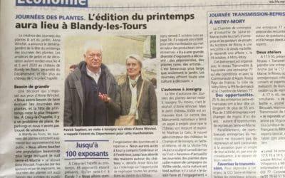 L'édition du printemps déménage à Blandy-les-Tours