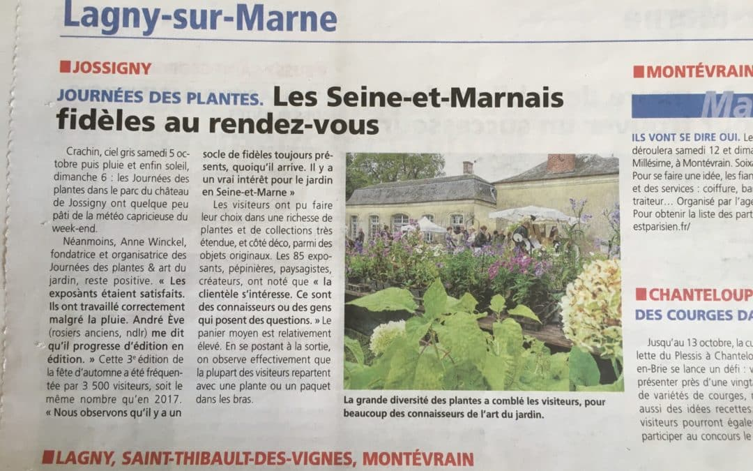 Jossigny : Les Seine-et-Marnais au rendez-vous