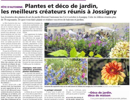 Plantes & Déco de jardinles meilleurs créateurs réunis à Jossigny :